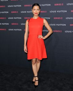 Gugu Mbatha-Raw: Photos: Gugu at the Louis Vuitton 'Series 2' The Exhibition 5.2.15 (Updated 23.9.15)