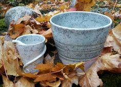 Grön kristallglasyr. #keramik #stengods #konst