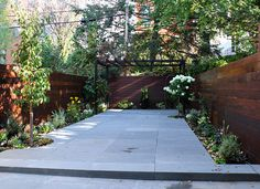Wood Siding  The Artist Garden - Park Slope Garden Brooklyn, NY