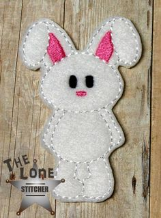 Standing Bunny Over Sized: The Lone Stitcher