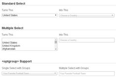 Chosen – jQuery plugin to make long select boxes more user-friendly