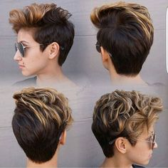Pixie 360 by @hairbyelm next step @hairbyelm going back to pixie. Lol