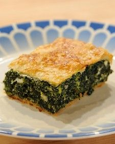 Author Agapi Stassinopoulos shares her mother's recipe for the classic Greek dish. This version includes ricotta cheese for a sweeter taste.