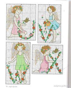 Alphabet Fairies - 7/8 Solo Patrones Punto Cruz (pág. 436) | Aprender manualidades es facilisimo.com