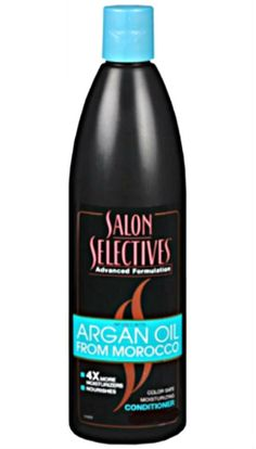 Salon Selectives Argan Oil From Morocco Color Safe Moisturizing Conditioner Best Shampoos, Hair Shampoo, Hair Conditioner, Argan Oil, Cleanser, Morocco, Cleaning Supplies, Salons, Cool Hairstyles
