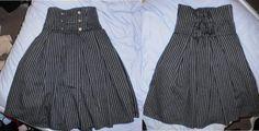 #handmade #military #skirt