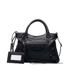 Balenciaga Classic Town Handbag Women Black/ Black - Discover the latest collection and buy online Women on the Official Online Store.