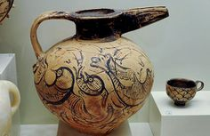 pottery-heraklion-knossos-Tonkrug Katsambas  [Birds!]
