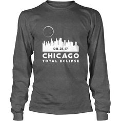 #Solar #Eclipse Illinois Chicago City Skyline Tshirt 2017 Gift, Order HERE ==> https://www.sunfrog.com//135631934-972683817.html?6782, Please tag & share with your friends who would love it, #christmasgifts #renegadelife #birthdaygifts