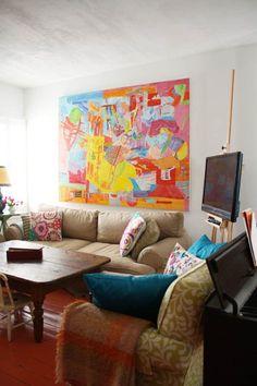 Linton & Rob's Colorful Family Home
