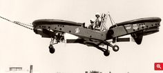 15 February 1962 - First flight of the Piasecki PA-59H / VZ-8 Airgeep II #flighttest