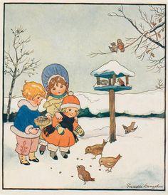 https://flic.kr/p/egpD7t   freddy Langeler boekillustratie h winter j 20-30   unknown from which book,and year