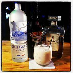 Great The Screaming Orgasm drink recipe is 1 oz. vodka, 1 oz. amaretto, 1 oz. Irish cr..., ,