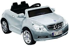 Kid Motorz Mercedes Benz E550 One-Seater Silver 6VRide-On Vehicle