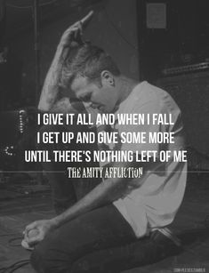 The amity affliction- give it all