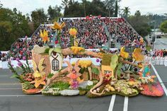 Rose Parade Float 2014