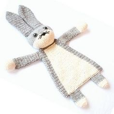 A darling little bunny has been born into the Ragdoll family! Even though the body is flat like a lovey, this animal will leave much more room for imagination and be a best friend to toddlers and even older children.