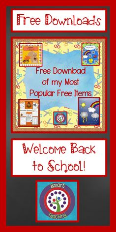 Back to School Free Download. Many products in one place.  There are reading, writing, and math activities for kindergarten, first, second, and third grade.  Have a great school year!