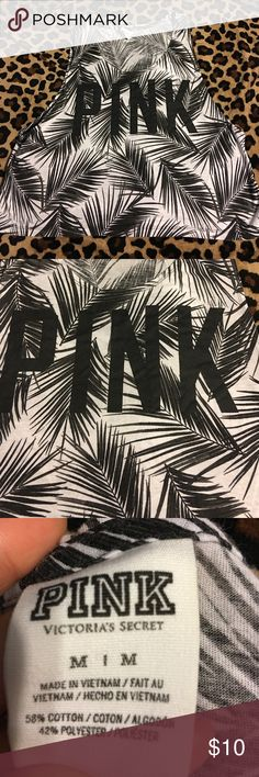 Victoria's Secret PINK tank top Super cute!!! Cut out in side is wide enough to see cute sports bra under or lace bralette! Super comfy & flowy! Perfect for gym or even with jeans& boots! 💕 PINK written in black capital letters in front! PINK Victoria's Secret Tops Tank Tops