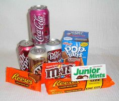 american candies   American Candy and Drinks