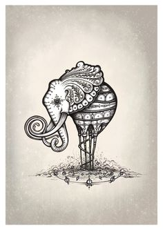 'The Elliphant' by Simanion