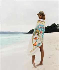 Gemma Ward #beach #summer