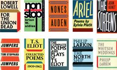 Like many great British stories, this one starts during the war.  The publisher Faber & Faber hired a German-Jewish typographer named Berthold Wolpe, fresh out of an Australian internment camp. Wolpe had designed the typeface Albertus during a prewar stint with Monotypein homage to the lofty