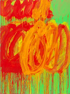 CY TWOMBLY - Untitled (Camino Real), 2011 Acrylic on plywood 99 3/8 x 72 7/8 inches 252.4 x 185.1 cm © Cy Twombly Foundation