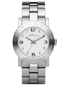 Marc by Marc Jacobs Watch, Women's Amy Stainless Steel Bracelet MBM3054 - Marc by Marc Jacobs - Jewelry & Watches - Macy's