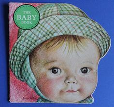 The Baby Book (A Golden Shape Book), illustrations by Eloise Wilkin Vintage Children's Books, Vintage Art, Vintage Images, Shape Books, Wonder Book, Children Images, Baby Images, Children's Book Illustration, Book Illustrations