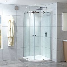 Phoenix Motion 8mm Frameless Twin Quadrant Door