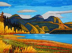 A collection of Paintings by Canadian Painter Nicholas Bott. Canadian Painters, Canadian Artists, Oil Pastel Paintings, Cool Paintings, Waterfall Paintings, Landscape Art, Landscape Paintings, Oil Painting Pictures, Mini Canvas Art