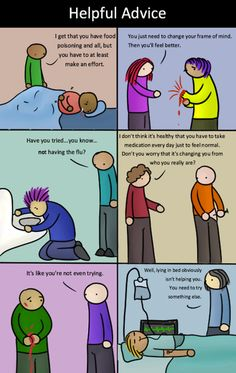 Si las enfermedades orgánicas fuesen tratadas como las enfermedades mentales