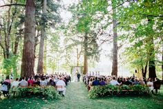 Laid back Oregon Farm Wedding via Magnolia Rouge