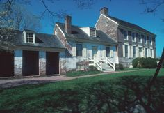 John Dickinson Mansion and Plantation in Central Delaware, one of the sites featured on the Delaware History Trail.