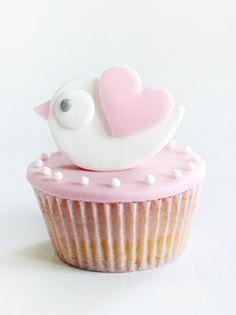 sabores da gula: Cupcakes - Batizado da Mariana