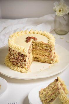 Italian Cream Cake With Cream Cheese Frosting Recipe Pinterest