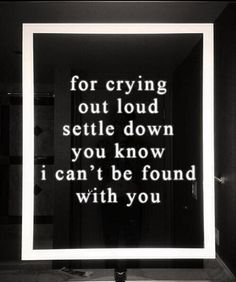 I love the the 1975 their music always makes me feel good. I could listen to them on a rainy day with the lights off and candles lit.