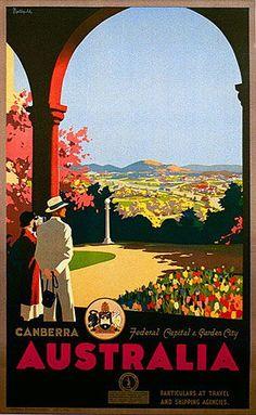 Venus Art Prints - Australia's finest collection of Australian vintage posters and prints Art Deco Posters, Vintage Travel Posters, Poster Prints, Vintage Advertisements, Vintage Ads, Party Vintage, Posters Australia, Australian Vintage, Tourism Poster