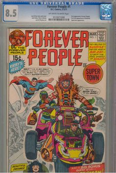 Title: Forever People | Year: 1971 | Publisher: DC | Number: 1 | Print: 1 | Type: Regular | TitleId: e99c8524-9235-4bac-add9-eca818e78d73