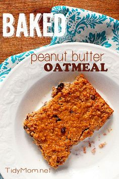 Try baked oatmeal for a unexpected morning treat. It's a mix between an oatmeal…