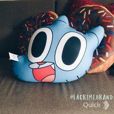 Gumball pillow
