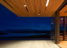 árborg house by PK arkitektar. on the banks of the hvita river near reykjavik, iceland.