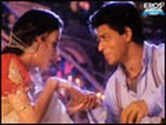 The song Bairi Piya from the Bollywood movie Devdas, 2002. Sweet video, lovely expressions, and Aishwarya's get up is awesome! :)