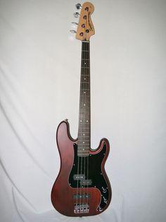 Indian Creek Guitars - Squier Standard Precision Bass Special - Satin Walnut, (http://www.indiancreekguitars.com/squier-standard-precision-bass-special-satin-walnut/)