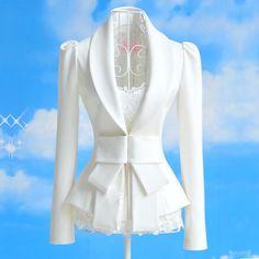Amazing White Jacket