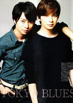 Sho Sakurai & Jun Matsumoto from Arashi