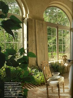 English cottage published autumn issue of Cote Ouestfrom 1994. via Kitchens I Have Loved