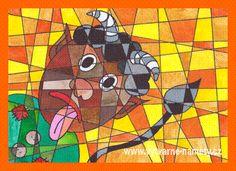 Mikuláš, Anděl a Čert Painting, Art, Art Background, Painting Art, Kunst, Paintings, Performing Arts, Painted Canvas, Drawings