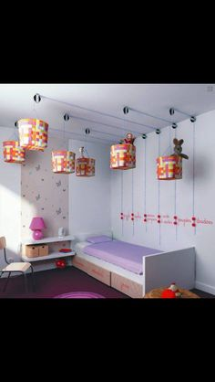 Smart opbevaring af legetøj på et lille værelse